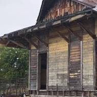 Arch students aid restoration of historic train depot