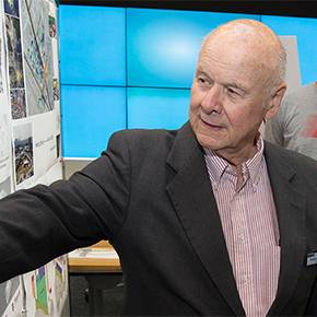 New chair honors Mann, studio leader for more than 50 years
