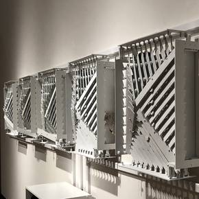 Arch profs' Stark Gallery exhibit features transformable design