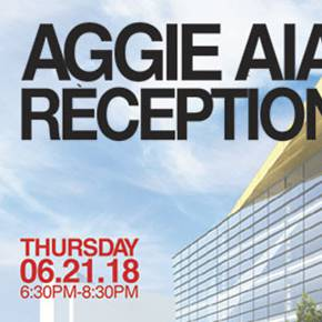 RSVP for Aggie Reception at the 2018 AIA conference in NYC