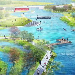 Landscape architecture student's concept earns coveted award