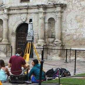 CHC study reveals decay on Alamo's iconic west facade