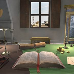 Student-developed art history video game earns confab honor