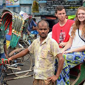 Architecture students travel to Bangladesh, win design charrette