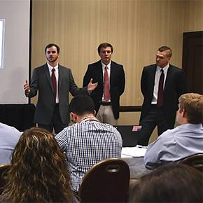 CoSci students earn top honors for contest plans, presentations