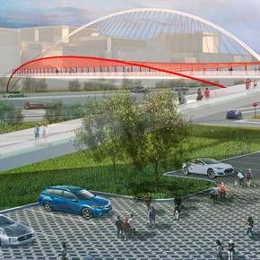 LAND students garner first prize  in Houston bridge design contest