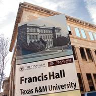 Francis Hall renovation under way; CoSci to move in next spring
