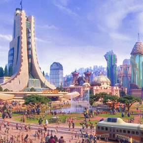 Former vizzer detailed GIS-based creation of 'Zootopia' city in GIS Day keynote address Nov. 14