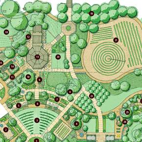 LAND students informed design of new campus teaching garden
