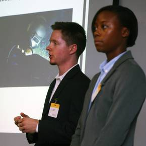 CoSci students' presentations impress industry professionals