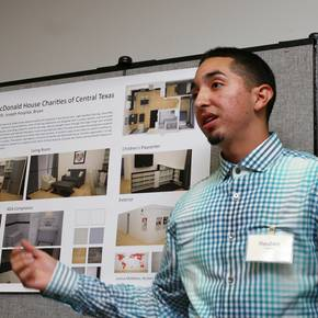 Students unveil Ronald McDonald room designs at St. Joseph Center