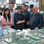 Global healthcare design group honors Mann's teaching career