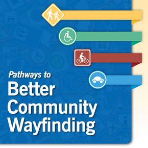 Lee's students contribute to  creation of wayfinding guide