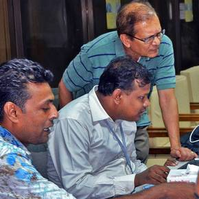CoSci prof featured at building system workshop in Bangladesh
