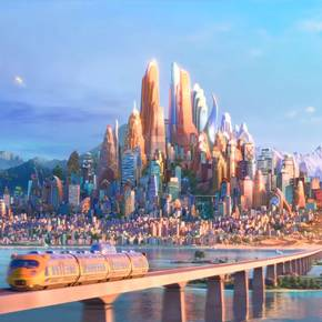 Viz grad tells how Disney created 'Zootopia' city with GIS software