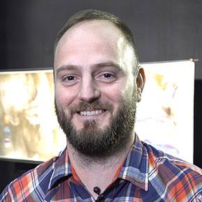 Viz alum makes movie magic lighting Pixar animated films