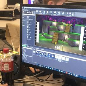 Viz students hit the road, win top honors in Feb. 5-7 KSU game jam