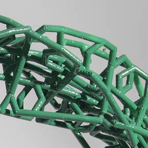 Doctoral students develop model for new flexible structural system