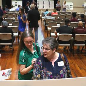 Planning, LAND students unveil La Grange post-Harvey proposals