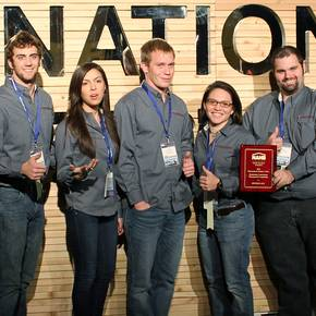 CoSci students excel at national NAHB competition in Las Vegas