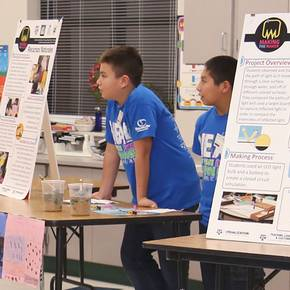 Children create STEM-related projects in NSF-funded study