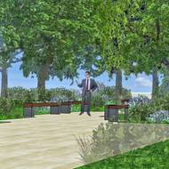 Landscape design concepts aim to lure RELLIS denizens outdoors