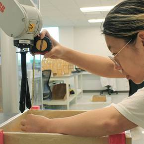 Undergrads employ robotics in design and construction