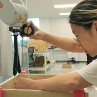 Undergrads employ robotics in design and construction