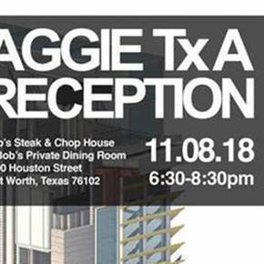 Department of Architecture to host Aggie Reception Nov. 8 at TSA convention in Fort Worth