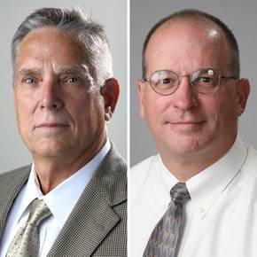 Peacock, Anderson recognized with research, teaching awards