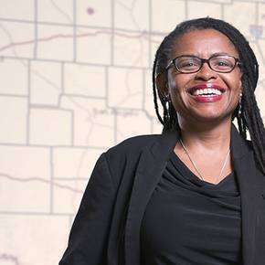 Prof awarded grant for work in saving historic Black settlements