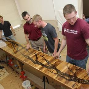 Entrepreneurial design group leaving its mark at Texas A&M