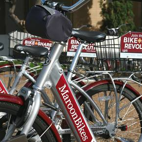 Urban planning students' study leads to campus bike program