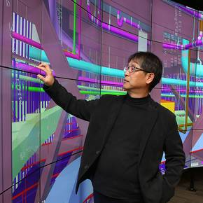 CoSci upgrades its BIM CAVE in new Francis Hall headquarters