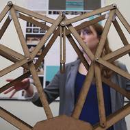 Students design portable bridges to assist military foot soldiers