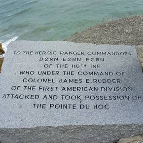 D-Day Ranger monument saved by Aggie-led restoration effort