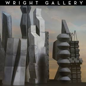 Exhibit of student art displayed in Wright Gallery this summer