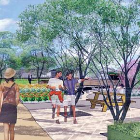 Landscape architecture students create plan for campus greenway