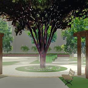 Scott & White selects student's garden design for new hospital