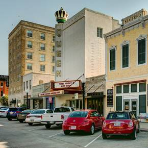 Downtown Bryan earns cultural badge with help of IAC fellows