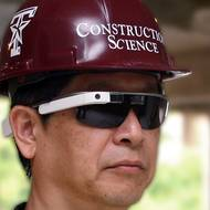CoSci professor testing Google Glass for construction projects