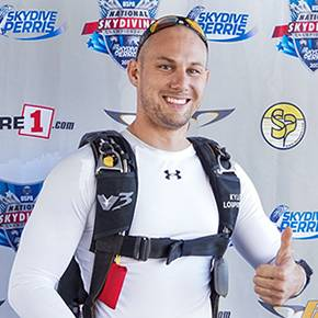 High-flying alumnus Lopries breaks skydiving speed record