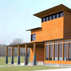 Students' residential designs win both awards in national contest