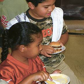 CHUD helps expand lunch program to Texas Colonias