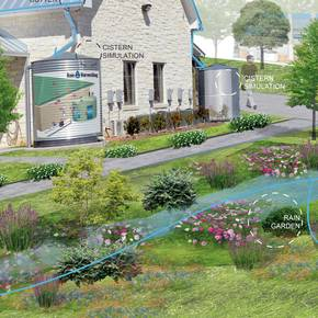 Students' design for water district facility emphasizes conservation
