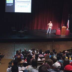 Former students discuss career arcs at 2014 Rowlett Lecture