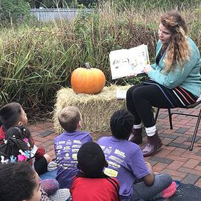 LAND prof, students teach local youth at Schob Preserve