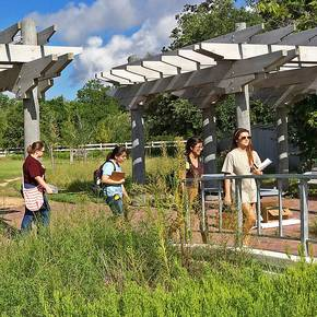 Donated nature preserve serves university as 'living' classroom