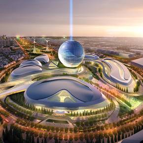 AS+GG's sustainable city design selected for Kazakhstan expo