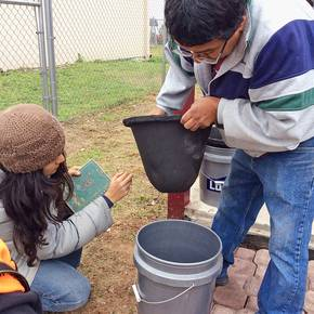 Colonias residents learn how to purify water at two new facilities
